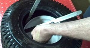 Small Engine Repair: How to repair a Lawn and Garden Tractor Tire